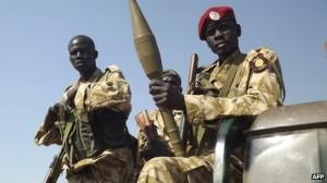 Vojáci Jižního Súdánu